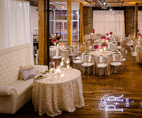 Wedding reception at Terminus 330